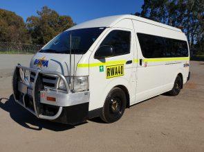 12 Seat Bus with Mine Spec